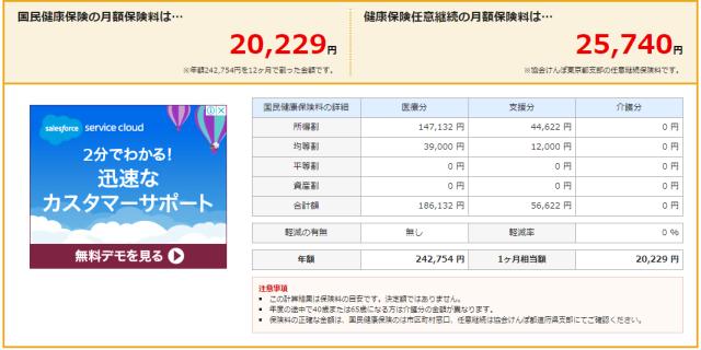大阪市 国民健康保険料 シミュレーション